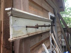 Railroad spike coat rack by ivegotahammer on Etsy