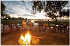 Picturesque scenery -- Pom Pom Camp -- Botswana