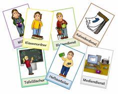 krabbelwiese: Klassendienste