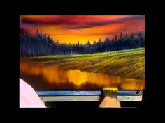 The Joy of Painting S13E4 Evening at Sunset - YouTube