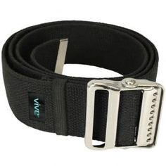 Vive Gait Belt Inch) - Transfer Assist Device for Seniors, Elderly, Pediatric, Bariatric, Occupational and Physical Therapy - Medical Nursing Safety Long Gate Strap with Quick Release Metal Buckle Best Leather Belt, Mobility Aids, Safety And Security, Height And Weight, Metal Buckles, Physical Therapy, Caregiver, Pediatrics, Health And Beauty