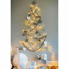 Árvore de Natal de giz e luzes  @3dimensoes