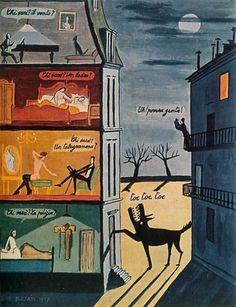 Dino Buzzati,Toc, toc (1957) Le notti difficili