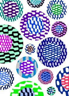 Op Art Circles - Sarah Bagshaw