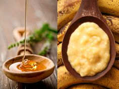 (For Sensitive Skin: Banana and Honey Mask) 1/2 mashed banana ~ 1/4 cup oatmeal, cooked with milk ~ 1 egg ~ 1/2 tablespoon honey ~ Mix ingredients together. Massage onto face in a slow, circular motion and leave for 15 minutes. Rinse with tepid water. Oatmeal is high in nourishing vitamins and minerals; it gently cleanses and heals skin. Bananas contain vitamin A eggs contain lecithin, a natural skin emollient; and honey helps to maintain the skin's natural acid mantle.