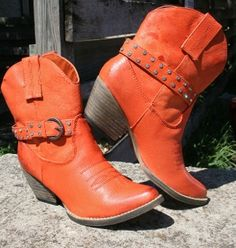 Gunslinger Burnt Orange Boots