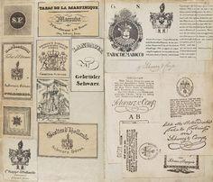 Letterology: 18th & 19th Century German Logos
