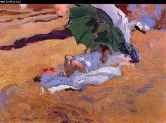 joaquin sorolla y bastida | Alfred Sisley Museum: Child's Siesta Joaquin Sorolla Y Bastida