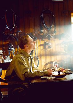 Tom Hiddleston - War Horse - as compassionate Capt. Nicholls