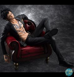 One Piece – Trafalgar Law Statue – Excellent Model P.O.P. / SOC: MegaHouse