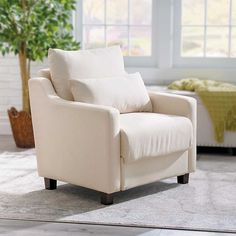 Keep your living room from getting cluttered by utilizing hidden storage so the items you need are nearby without getting in the way. This chair is perfect for storing a blanket, your slippers, remote controls or books and magazines.