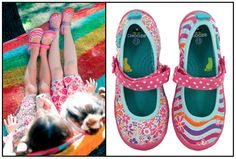 So want these for E!!!  Super cute :)  #CHOOZE repin to win! Dance/Charm Pink (Sizes T4-7, K8-13, Y1-6)