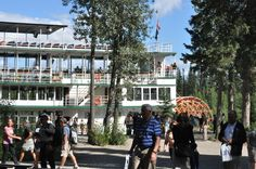 "The Riverboat ""Discovery"" is a great way to see the sights around Fairbanks, Alaska."