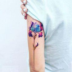 Crimean Artist Pis Saro Creates Wonderful Sketchy Watercolor Tattoos …
