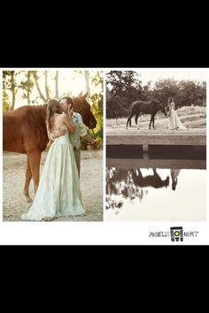 Horse wedding photos @ Rochelle Mort Photography