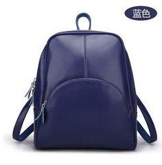 c8bbb71315c7 Hot Sale Spilt Leather Backpack