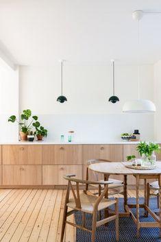 Markedsplassen for interiørdesign Home Decor Kitchen, Kitchen Living, Interior Design Kitchen, New Kitchen, Home Kitchens, Kitchen Decorations, Decorating Kitchen, Cuisines Design, Küchen Design
