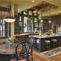 Cozy Country/Rustic Kitchen by Jerry Locati