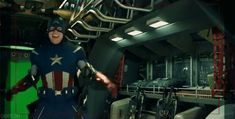 gif--from The Avengers bloopers