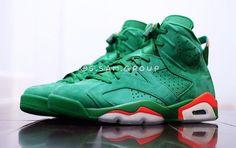 32218803e3671e Our Best Look Yet At The Air Jordan 6 Gatorade Green