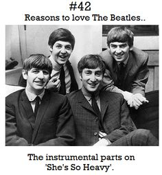 Reasons to love The Beatles #42