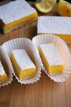 Mango Lemon Bars with a Lemon Zest & Vanilla Bean Shortbread