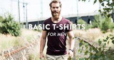 BASIC T-SHIRTS FOR MEN