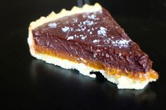 Miscriant: Salted Caramel Chocolate Butterscotch Tart #saltedcaramel #chocolate #tart #butterscotch