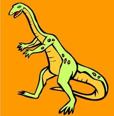 ammosaurus coloring page