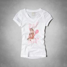 girls cat graphic tee | girls graphic tees | abercrombiekids.com