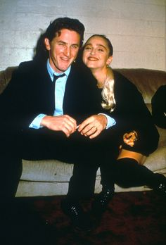 Blast From the Bast Couples: Madonna and Sean Penn got married in 1985 but were divorced by 1989. More here.