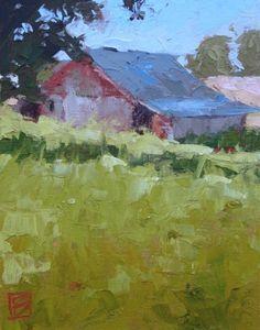 Morning Shadow, painting by artist David Boyd, Jr