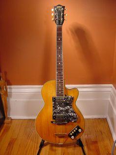 Vintage EKO Club Electric Guitar. myrareguitars.com