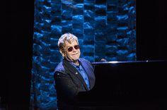 Elton John performs during Hillary Clinton fundraiser at Radio City Music Hall   Billboard