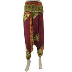 Main Product Image Yoga Capris, Yoga Pants, Harem Pants, Trousers, Ali Baba, Red Jumpsuit, Boho Chic, Bohemian, Kurti
