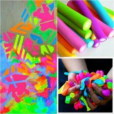 Tacones con Gracia: Colores: Colores Neón