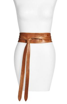 Ada Handmade Leather Wrap Belt available at #Nordstrom