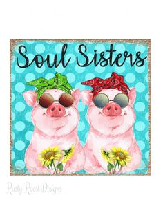 Funny Pigs, Cute Pigs, Soul Sisters, Pig Png, Pig Images, Hot Dog Bar, Motivational Quotes For Women, Shirt Print Design, Red Bandana