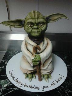 Yoda Cake - Cake by Dina
