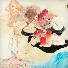 In Evening Air by Future Islands. Cover art by Kymia Nawabi.