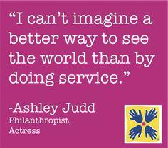 Ashley Judd shares her inspiration
