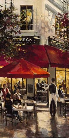 Tribeca Bar by Brent Heighton