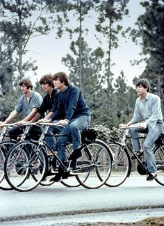 cycling beatles