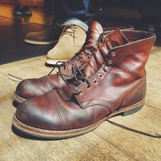 Red Wing Iron Ranger 8111 boots