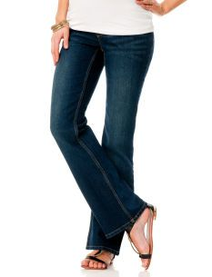 Motherhood Maternity Under Belly Signature Pocket Boot Cut Maternity Jeans