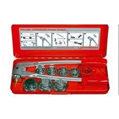 Rothenberger ROCAM EXPANDER Power Torque Set Q 3/8-1/2-5/8-3/4-7/8-1.1/8-1.3/8'' No.12341