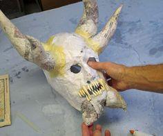 Paper Mache Mask Tutorials- Part 2