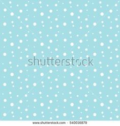 Snowflakes seamless pattern. Vector illustration for Merry Christmas and Happy New Year greeting card. Winter Holiday decoration. Snow seamless pattern, snowfall wallpaper template, cards background.