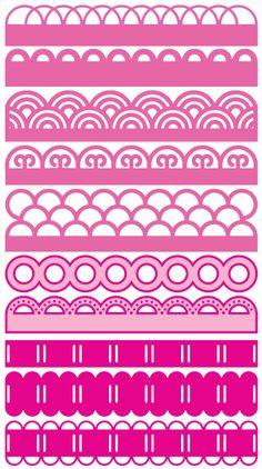 Chevron Borders, Borders Free, Chevron Cards, Free Silhouette Designs, Laser Cut Paper, Scrapbook Borders, Free Cards, Borders For Paper, Weaving Designs
