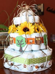 From http://www.plan-the-perfect-baby-shower.com.  Website has instructions on how to do it yourself.